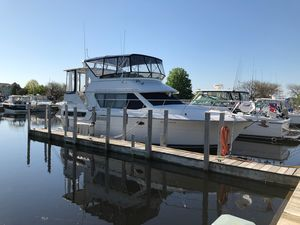 Used Carver 370 Aft Cabin Cruiser Boat For Sale