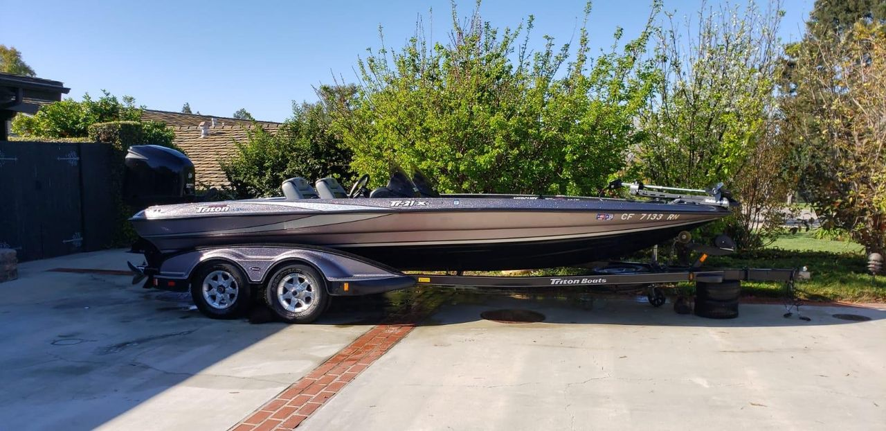 2007 Used Triton 2007 Freshwater Fishing Boat For Sale - $36,500