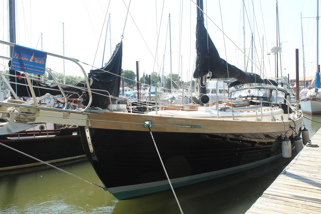 1985 Used Hans Christian 38 Cutter Sailboat For Sale - $94,900