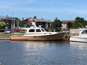 Used Wesmac 38 Hardtop Downeast Fishing Boat For Sale