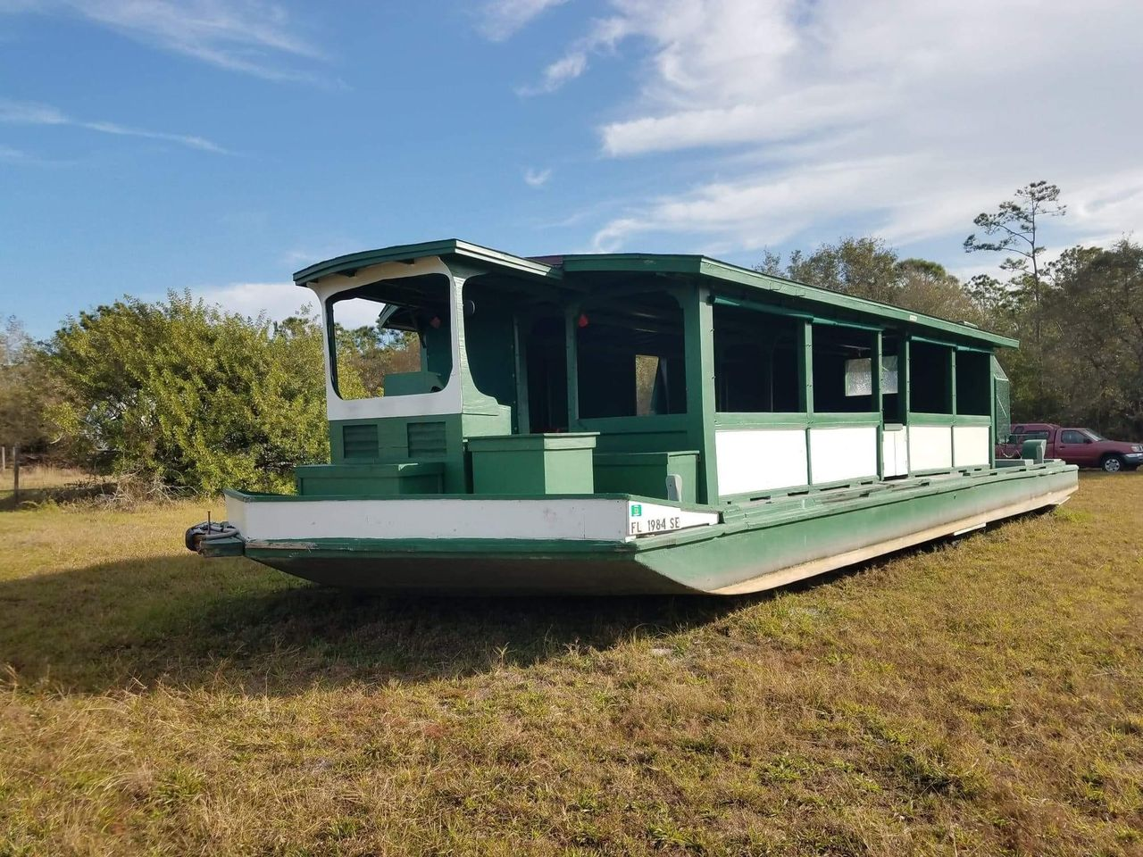 1991 Used Commercial Passenger Airboat Commercial Boat For Sale