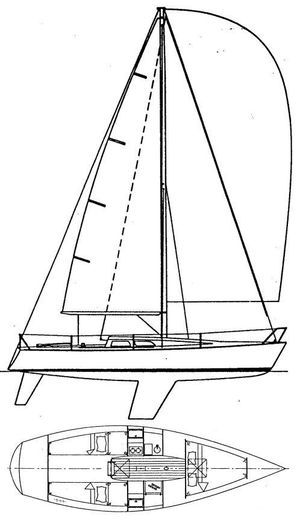 Used Olson 30 Racer and Cruiser Sailboat For Sale