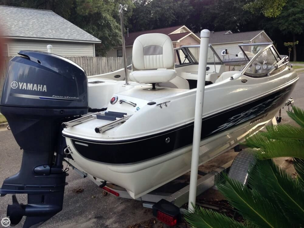 2013 used stingray 191 lx fish and ski bowrider boat for for Fish and ski boats for sale