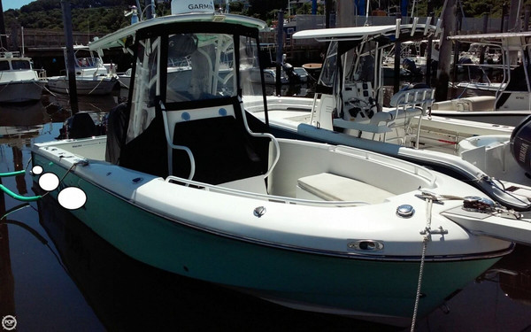 Used Blue Fin Pro Fish 250 Center Console Fishing Boat For Sale