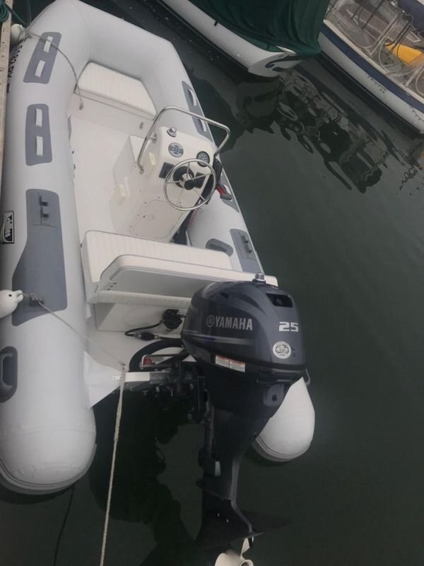 Used Achilles Hb-350dx Center Console Tender Boat For Sale