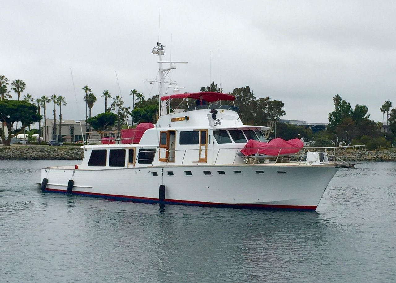 1976 Used Custom Dittmar Donaldson Motor Yacht For Sale