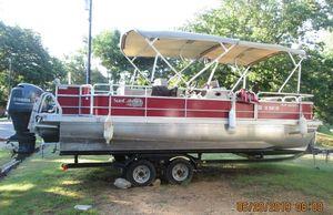Used G3 V322 F Pontoon Boat For Sale