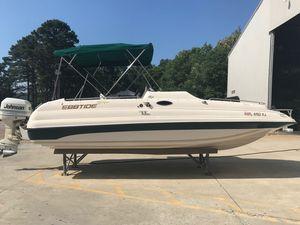 Used Ebbtide 2300 Fun Cruiser Bowrider Boat For Sale
