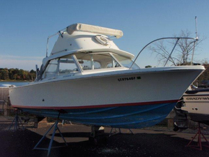 Used Bertram 25 Flybridge Boat For Sale