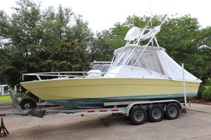 Used Release 26 Custom Cuddy Center Console Fishing Boat For Sale