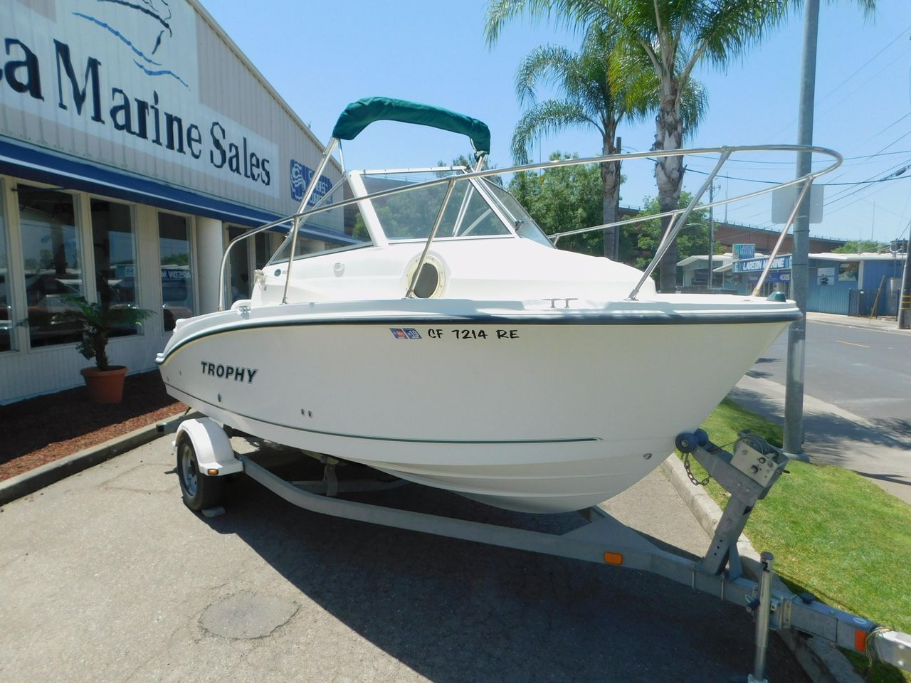 2005 Used Bayliner Trophy Freshwater Fishing Boat For Sale - $15,900