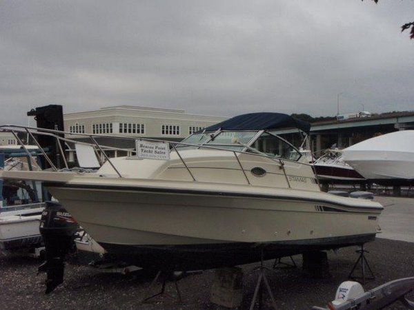 Used Stamas 26 Saltwater Fishing Boat For Sale