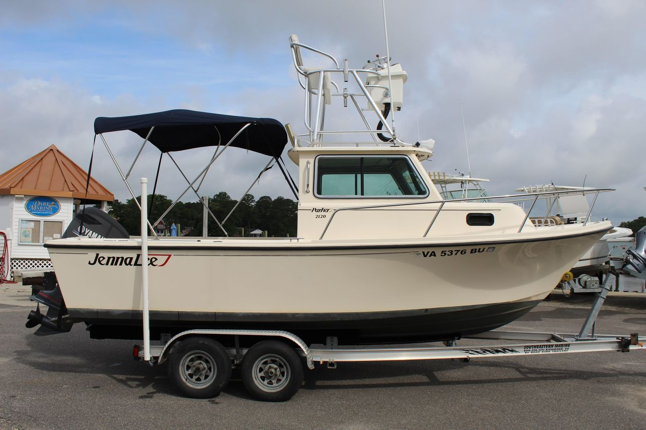 2003 Used Parker 2120 Sport Cabin Pilothouse Boat For Sale