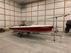 Used Flying Scot 19 Racer and Cruiser Sailboat For Sale