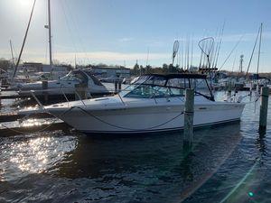 Used Sea Ray 31 Amberjack Freshwater Fishing Boat For Sale