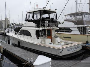Used Jersey 50 Convertible Flybridge Boat For Sale