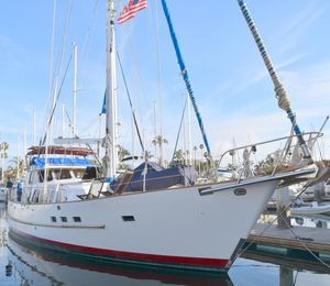 Used Cheoy Lee Motorsailor Cruiser Sailboat For Sale