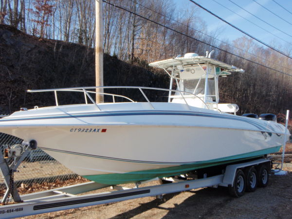 Used Fountain Center Saltwater Fishing Boat For Sale