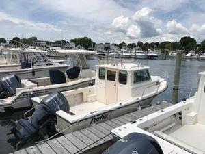 Used Parker 2120 Sport Cabin Pilothouse Boat For Sale