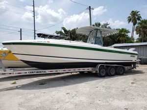 Used Intrepid 32 Center Console Fishing Boat For Sale