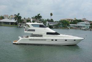 Used Fairline Enclosed Bridge Motor Yacht For Sale