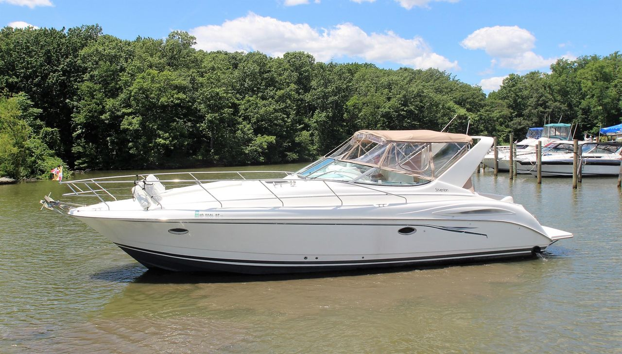 1998 Used Silverton 360 Express Cruiser Boat For Sale - $49,900