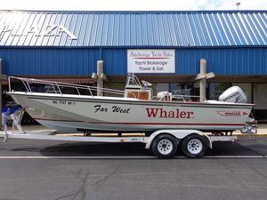 Used Boston Whaler 25 CC Center Console Fishing Boat For Sale