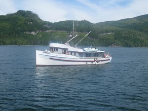 Used Custom Converted Seiner Motor Yacht For Sale