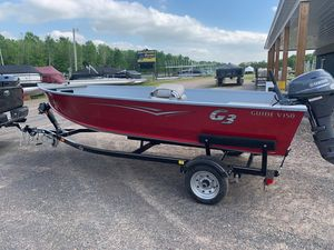 Used G3 Guide V150 T Freshwater Fishing Boat For Sale