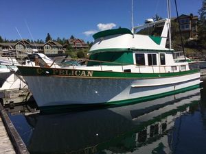 Used Chb Puget Trawler Boat For Sale