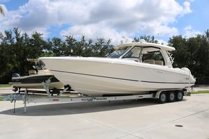 Used Boston Whaler 35 Realm Center Console Fishing Boat For Sale