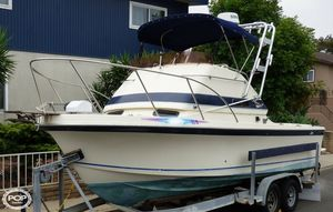 Used Skipjack 24 Flybridge Sportfisher Walkaround Fishing Boat For Sale