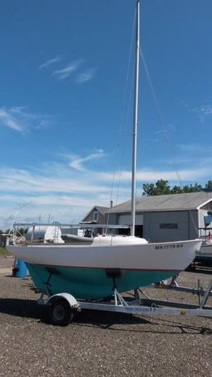 Used Cape Cod Bull's Eye Daysailer Sailboat For Sale