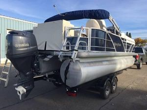 Used Aqua Patio 220 Pontoon Boat For Sale