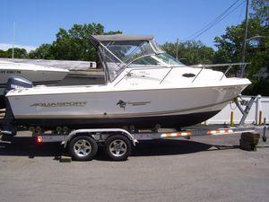 Used Aquasport 215 Explorer Cruiser Boat For Sale