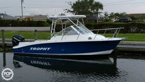 Used Trophy Pro 2302 Walkaround Fishing Boat For Sale