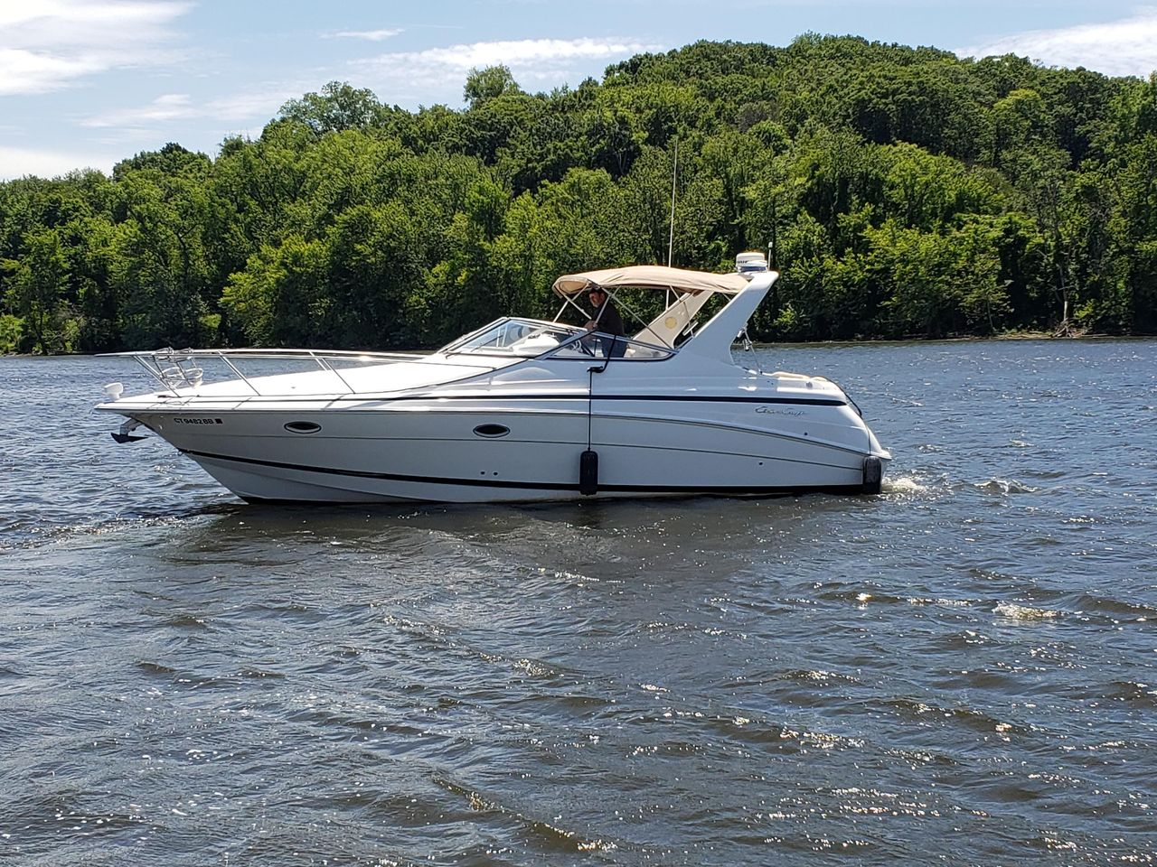 1999 Used Chris-Craft 328 Express Cruiser Boat For Sale