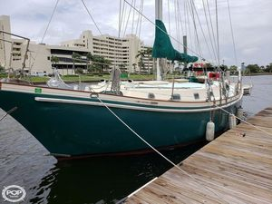 Used Bruce Roberts Spray 40 Cutter Sailboat For Sale
