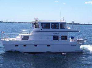 Used Endeavour Catamaran Trawlercat 40 Pilot House Power Catamaran Boat For Sale