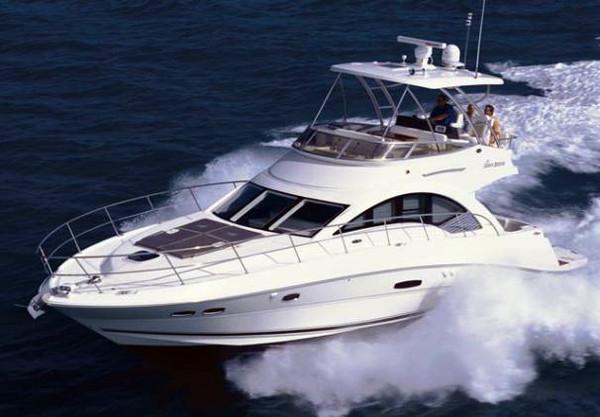 Used Sea Ray 47 Sedan Bridge HYD Platform Motor Yacht For Sale