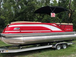 New Silver Wave 230 Grand Costa Pontoon Boat For Sale