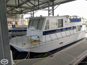 Used Burns Craft 32 House Boat For Sale