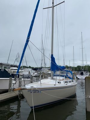 Used Catalina 30 Tall Rig Cruiser Sailboat For Sale