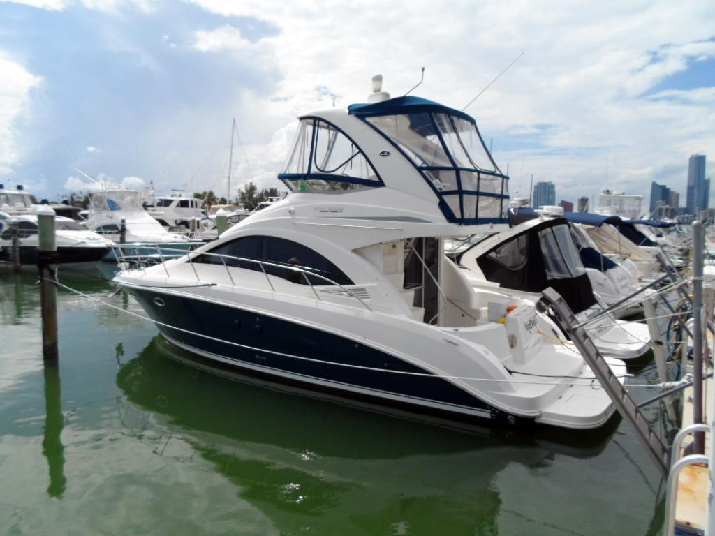 2010 Used Sea Ray 390 Sedan Bridge Diesel Engines