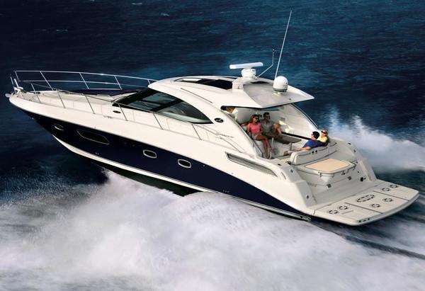 Used Searay 470 Sundancer HYD Platform Express Cruiser Boat For Sale