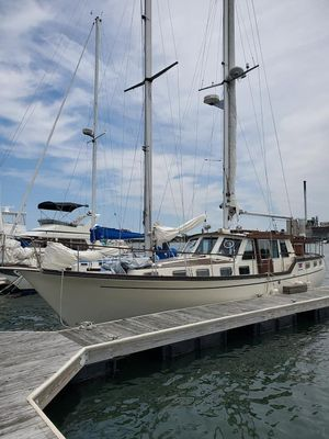 Used Nauticat 44 Motor Sailor Schooner Sailboat For Sale