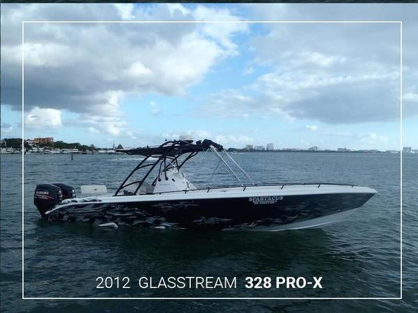 Used Glasstream 328 Pro-x Saltwater Fishing Boat For Sale
