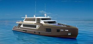 New Bray Yacht Design Ocean Condo Motor Yacht For Sale