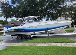 Used Donzi 38 ZSF Sports Fishing Boat For Sale