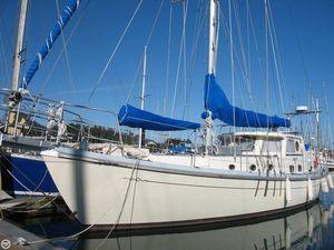 Used Custom 47 Motorsailer Sailboat For Sale